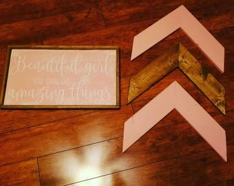 Farmhouse Nursery Set in Pink