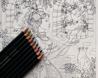 10 coloring pages
