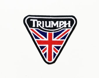 Triumph Sew Iron On Patch Gift New