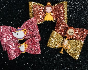 Beauty and the Beast Bow collection
