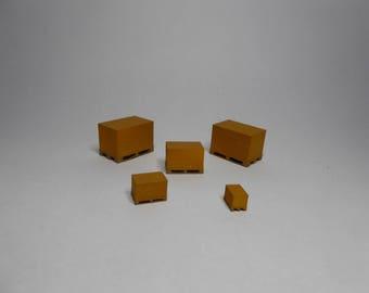 10X pallet of bricks HO gauge 3d printed
