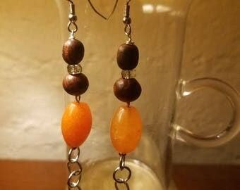 Burled whindchime Earrings