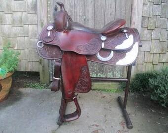 Bob's reining show saddle