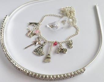 Princess Cinderella Theme Jewellery Set
