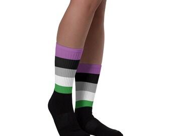 Agender Pride Socks