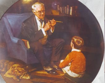 Norman Rockwell Set of 3