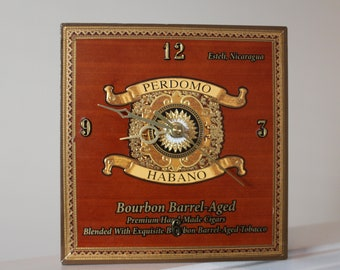 Clock - Cigar Box