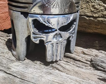 One of a kind Piston carving