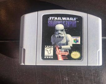 Star Wars: Shadows of the Empire   Nintendo 64 Game Cartridge   Tested and Works