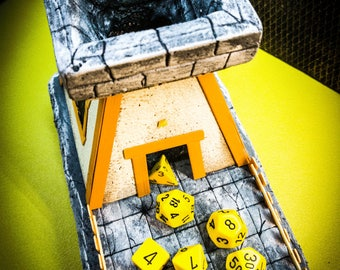 Dice tray tower
