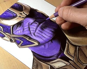 Thanos Drawing