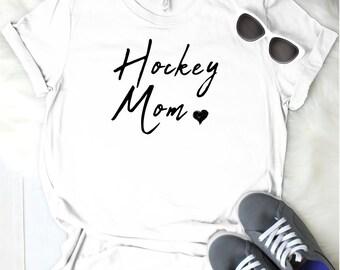 Hockey Mom Women's T Shirt UNISEX Bella Canvas Soft Style Motherhood #momlife ladies shirt mom life sports mom