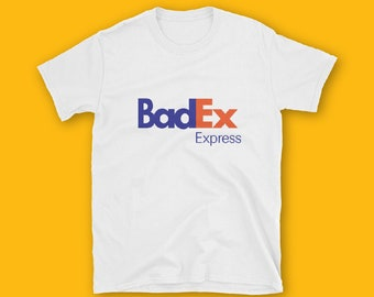 Bed Ex Express Short-Sleeve Unisex T-Shirt, Fedex Parody shirt, Fashion, Funny, Unisex, Couple T-shirt