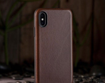 Leather iPhone X Phone Case