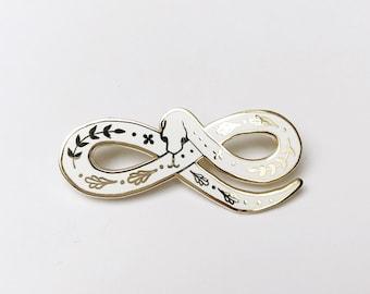 XL Enchanted Snake Pin