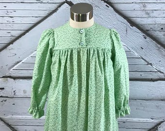 Size 2--Girl's Cotton Flannel Gown
