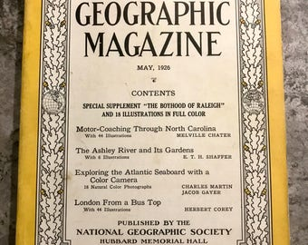 May 1926 National Geographic Magazine