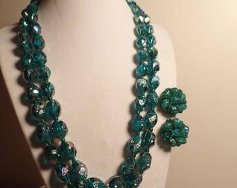 1950's Western Germany Bead Set-Interesting Beads