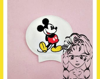 CLASSIC Mr Mouse Ear (Add On ~ 1 Pc) Mr Miss Mouse Ears Headband ~ In the Hoop ~ Downloadable DiGiTaL Machine Embroidery Design by Carrie