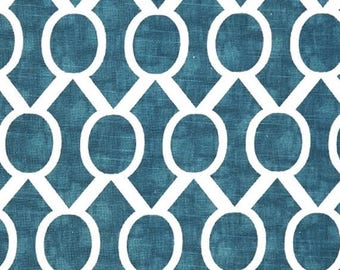 ON SALE - 10% Off Premier Prints Sydney Aquarius Slub Home Decorating Fabric BTY