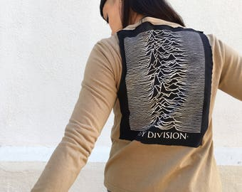 Ooak reclaimed Joy Division cardigan