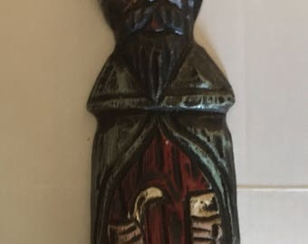 Wooden Medival man Bishop