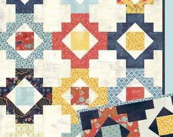 Trinkets quilt pattern from Lella Boutique - fat quarter friendly