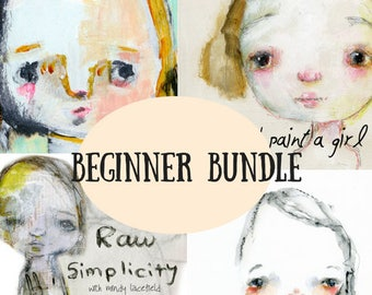 Beginner bundle online classes - by Mindy Lacefield