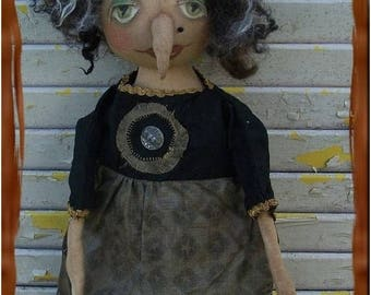 On Sale Primitive Helga The Horrible Witch With Wart