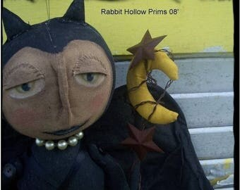 CustomerAppreciationSale Primitive Halloween Bannicula Bat Dollie
