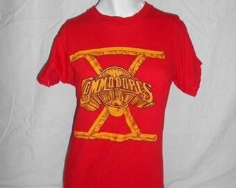 Closing Shop 40%off SALE VINTAGE 1980 80s original Commodores   Lionel Richie tee T-shirt t shirt tshirt   tour