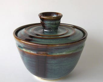 Coffee Filter Storage Jar - Ponderosa Glaze