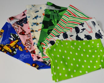 Week's Worth of kids' Boxer Briefs, you pick all (made to order)