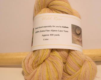 Alpaca Lace Yarn