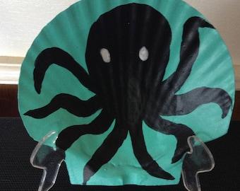 "6"" Seashell Painting - Octopus"