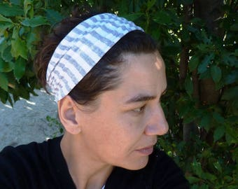 Headband made from recycled cotton jersey BD 010