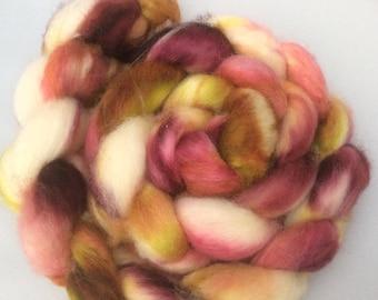 Wooly Onder #1 - handdyed BFL-top 3.5 oz