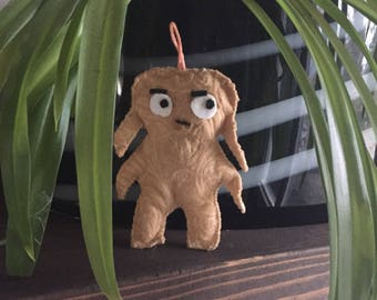 Gingerbread Critter Holiday Ornament