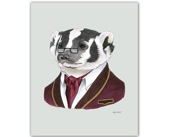 Badger print 11x14