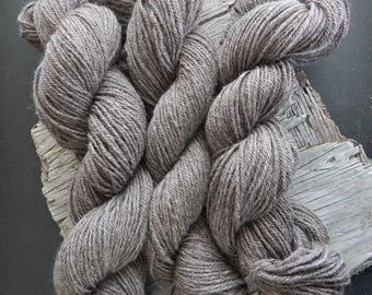 Baby Alpaca Yarn Worsted Weight Three Ply Rose Grey Baby Soft Knit Crochet Weave DIY Handmade