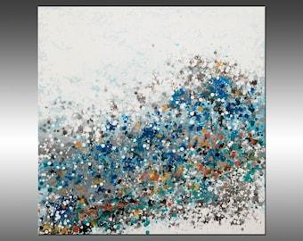 Modern Universe 4 - Original Abstract Painting, Art Abstract Painting Large Wall Art Painting Canvas Art Industrial