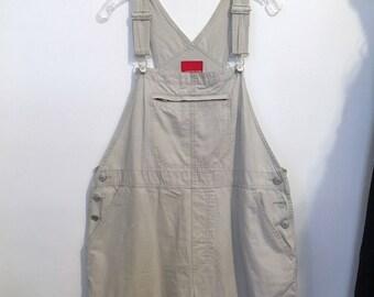Overalls  Size XL GLORIA VANDERBILT Vintage Women's Beige