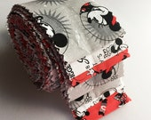 Mickey Mouse & Friends Fabric - 12 Strip Jelly Roll