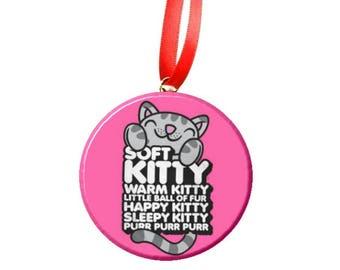 "Big Bang Theory Soft Kitty Sheldon 2.25"" Ornament"