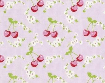 FAT QUARTER Tanya Whelan Fabric ~ Rambling Rose ~ Cherries in Pink pwtw134-pink