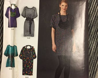 Uncut Cynthia Rowley Dress Sewing Pattern  Misses' Dresses Size 12-20 Bust 34-42 inches Complete Uncut