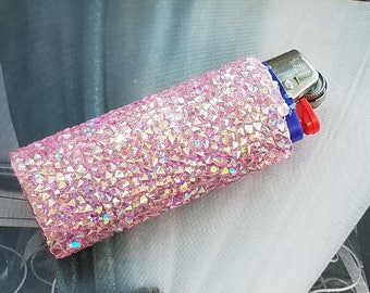 Pink Bling/Bic Lighter Sleeve