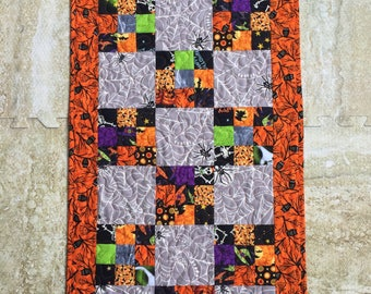 Halloween Nine Patch Table Runner