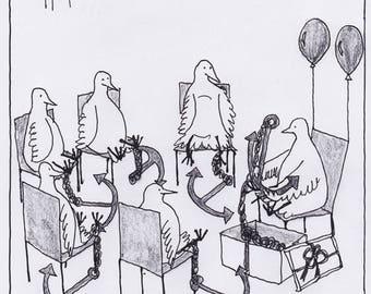 Weighed Down Cartoon