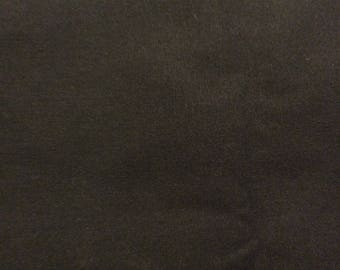 3 Yards of VIntage Black Cotton Blend Fabric